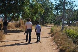 walking around Munali