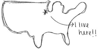 Map I live here