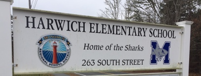Harwich Elementary School sign