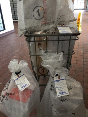 post office cart